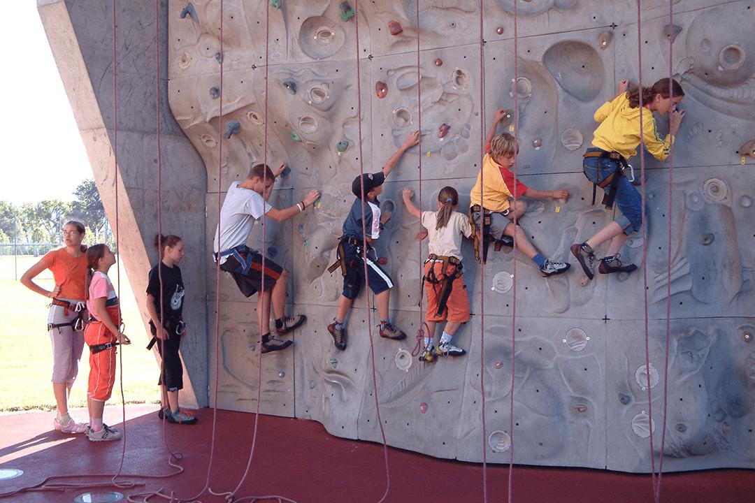 Sport per bambini_arrampicata