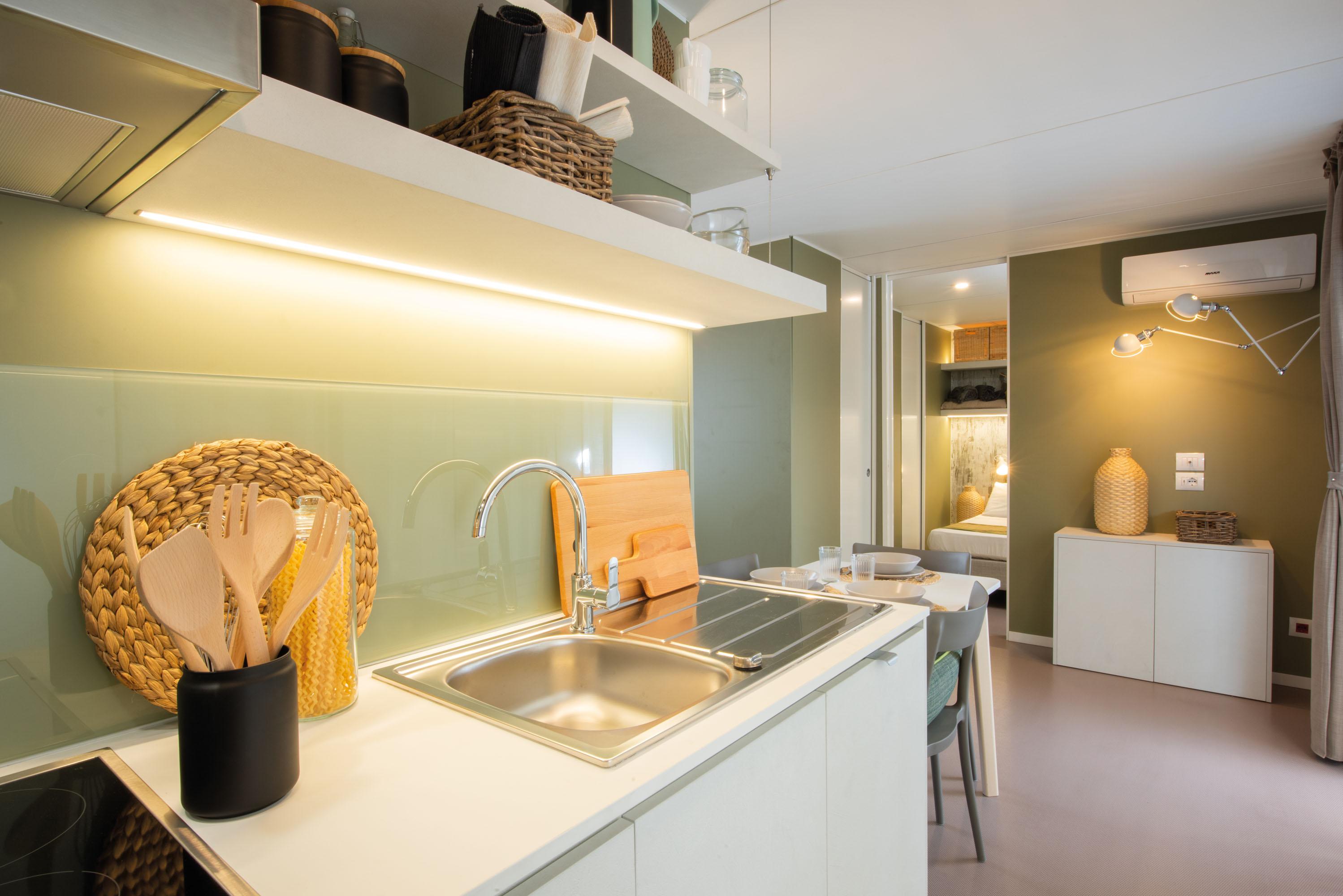 Verzasca Lodge 5 - kitchen